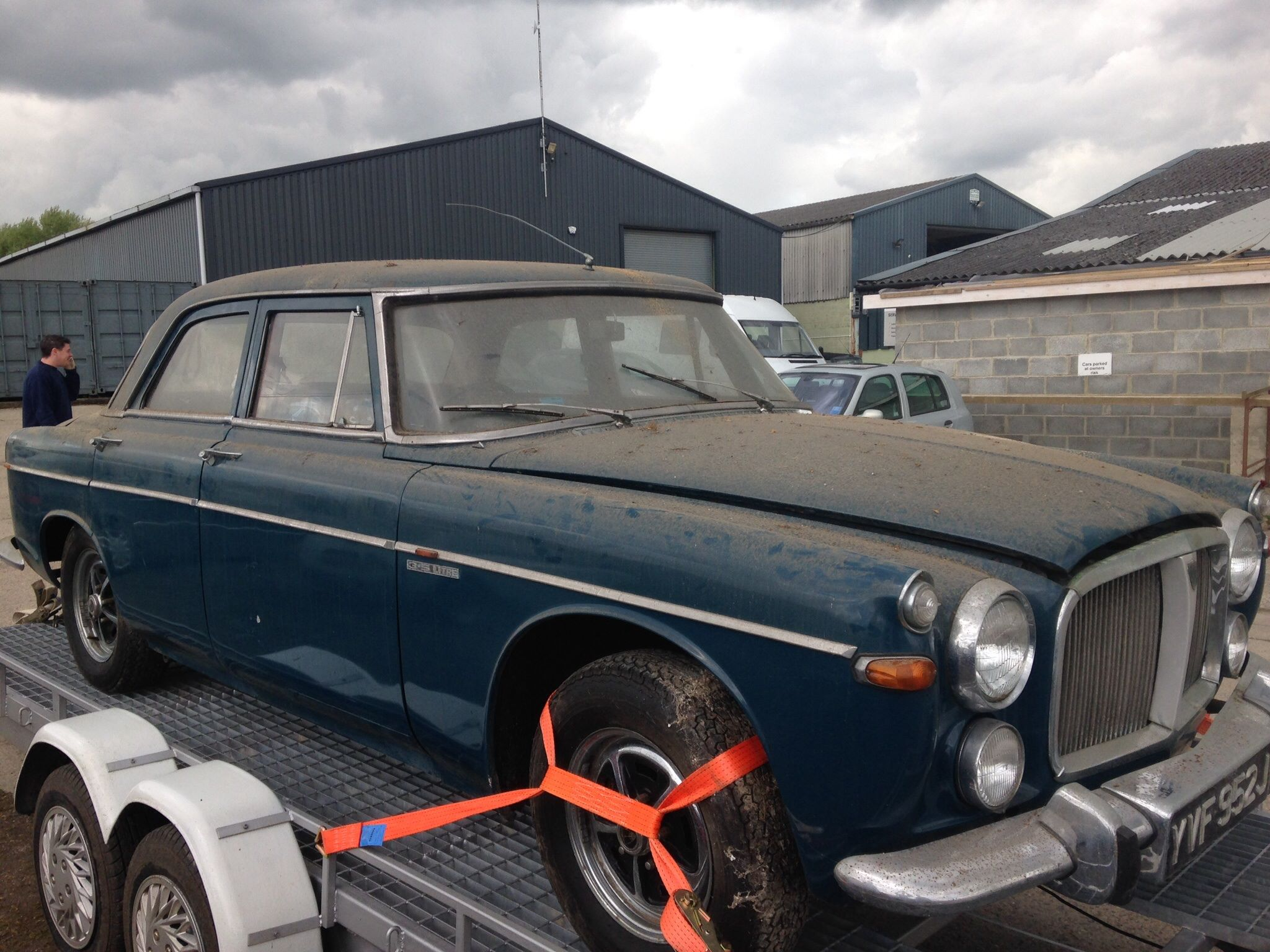 Rover P5 Barn Find